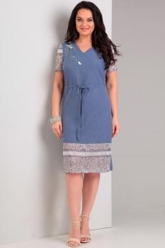 Платье Jurimex 1777 Светло-синий