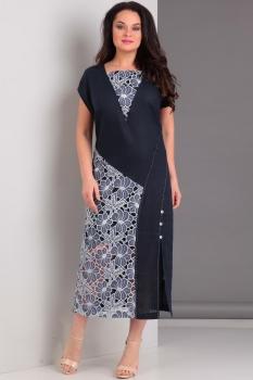 Платье Jurimex 1781 Темно-синий