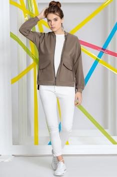 Куртка Kaloris 1387 коричневый
