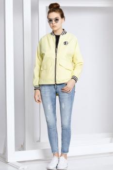 Куртка Kaloris 1390 желтый