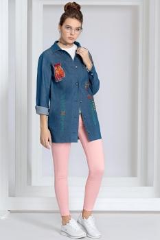 Куртка Kaloris 1400-1 синий