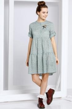 Платье Kaloris 1402 серый