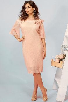 Платье Кокетка и К 453 светло-розовый