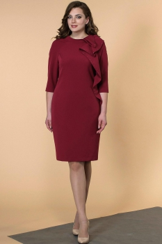 Платье Кокетка и К 466-1 бордо