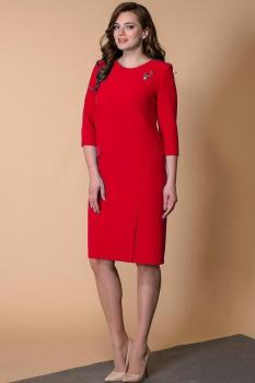 Платье Кокетка и К 467-1 красные тона