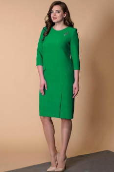 Платье Кокетка и К 467-2 зеленые тона