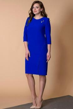 Платье Кокетка и К 467-3 василёк