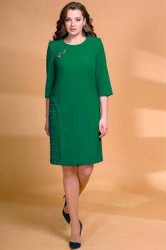 Платье Кокетка и К 472-1 зеленые тона