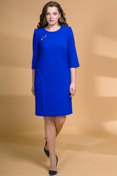 Платье Кокетка и К 472-2 василёк