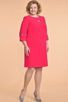 Платье Кокетка и К 503 красные тона
