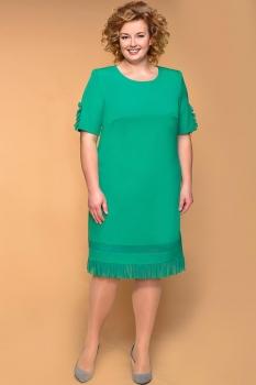Платье Кокетка и К 515 зеленые тона