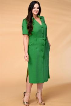 Платье Кокетка и К 521 зеленые тона