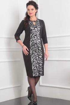 Платье Lady Line 411-1 черный