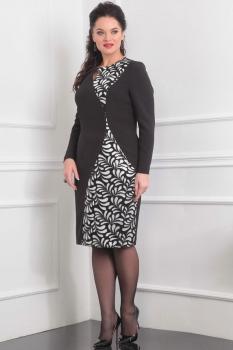 Платье Lady Line 414-1 черный