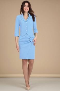 Костюм Lady Line 422 голубой