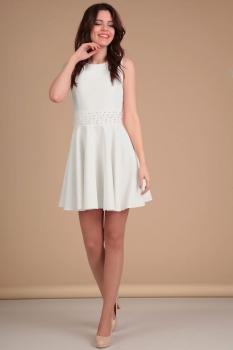 Платье Lady Line 423-1 белый