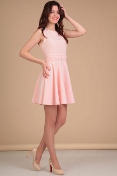 Платье Lady Line 423-5 розовый