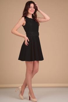 Платье Lady Line 423 черный