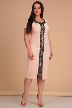 Платье Lady Line 426-1 розовый