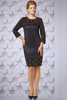 Платье Lady Secret 3187 темные-тона
