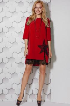 Платье Lady Secret 3288-2 красный