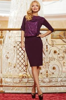 Платье Lady Secret 3322 фиолетовый