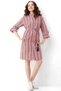 Платье Lady Secret 3473 красные-тона