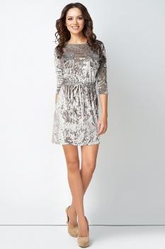 Платье Lady Secret 3486 серебристый