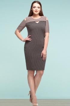 Платье Lady Secret 3506-1 бежевые-тона