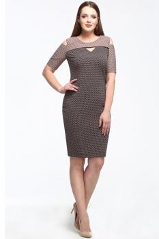 Платье Lady Secret 3506 черно-бежевые-тона