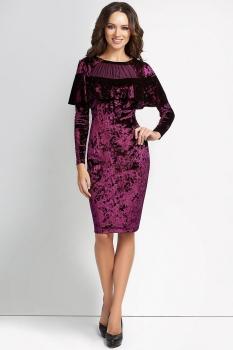 Платье Lady Secret 3510 бордовый