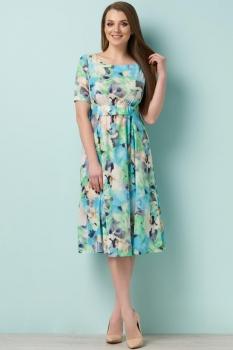 Платье Lady Secret 3526-1 бирюзовые-тона
