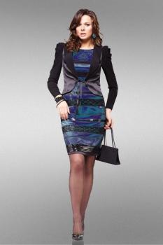 Костюм Lady Secret 3569 чёрно-синий