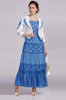 Костюм Lady Secret 3705/1-1 голубой с белым