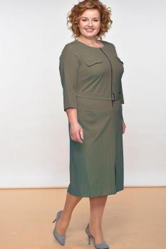 Платье Lady Style Classic 1175-1 Зеленый