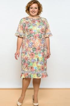 Платье Lady Style Classic 1327 разноцвет