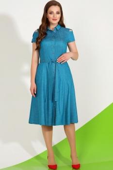 Платье LaKona 1035-1 бирюза