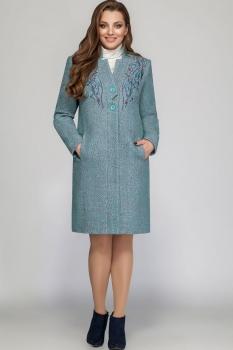 Пальто LaKona 1053-1 серо-синий