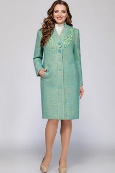 Пальто LaKona 1053 бирюза