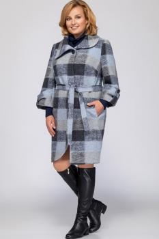 Пальто LaKona 1060 оттенки синего