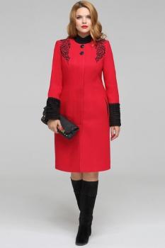 Пальто LaKona 797-1 красный