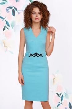 Платье LeNata 11794-4 мята
