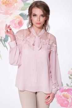 Блузка LeNata 11883-1 пудра