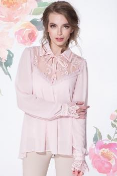 Блузка LeNata 11884-1 пудра