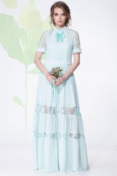 Платье LeNata 11890-1 мята