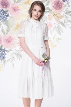 Платье LeNata 11891-1 молочный