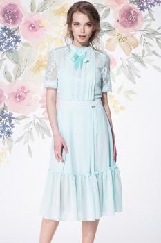 Платье LeNata 11891-3 мята