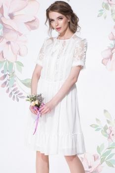Платье LeNata 11892-2 молочный