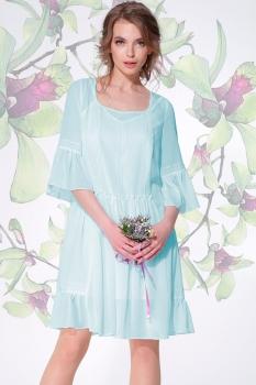 Платье LeNata 11893 мята