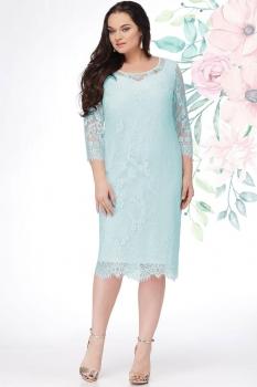 Платье LeNata 11908-1 мята